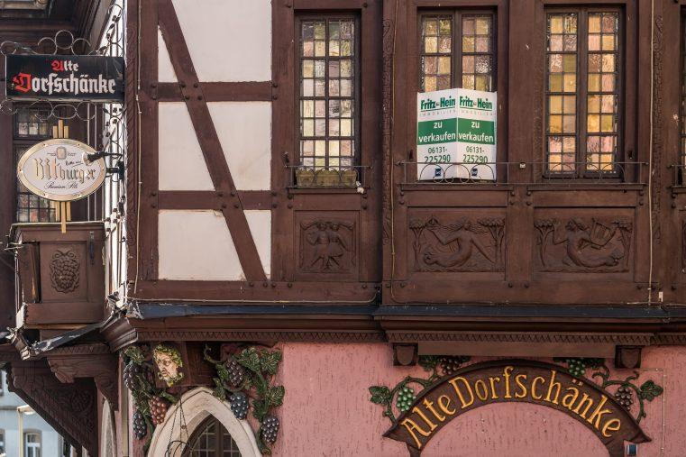 Betriebsaufgaben aufgrund fehlender Umsätze oder Nachfolge prägen die gastronomische Landschaft – Beispiel Assmannshausen. (Foto: Piel)