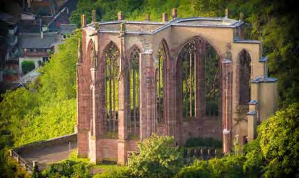Bacharach, Ruine der Wernerkapelle. (Foto: Piel)