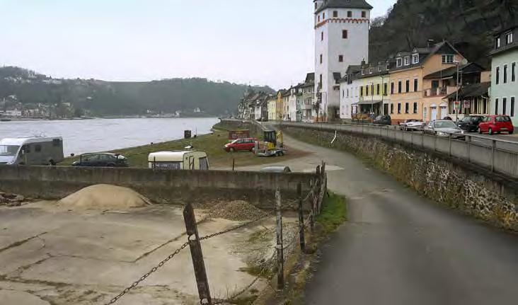 Uferzustand in St. Goarshausen. (Foto: RMP)
