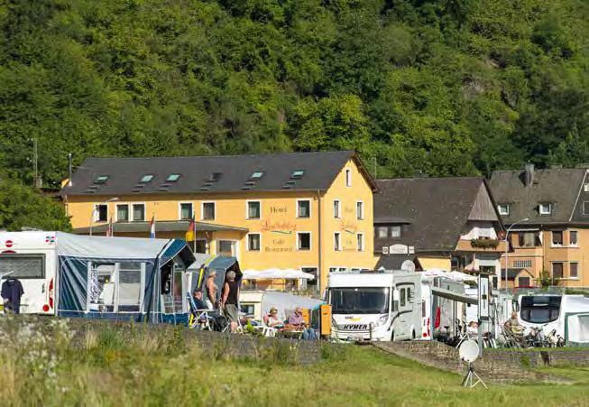 Campingplatz Loreleyblick in St. Goar. (Foto: Piel)