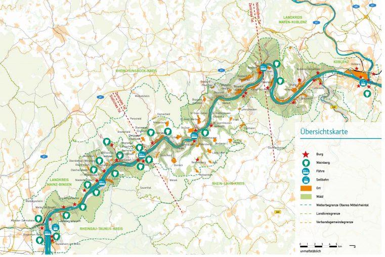 (Grafik: Machbarkeitsstudie BUGA Oberes Mittelrheintal)