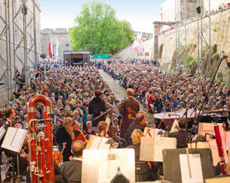 Etablierte Veranstaltungen wie beispielsweise Konzerte in der Festung Ehrenbreitstein sollen während der BUGA stattfinden. (Foto: Piel media)