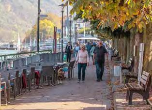 Die Rheinpromenade in Boppard … (Foto: Piel media)