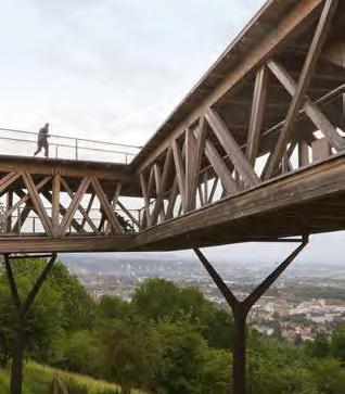 Zwischen Berg und Tal, Höhen und Niederungen (hier der Festungspark Ehrenbreitstein). (Foto: RMP)