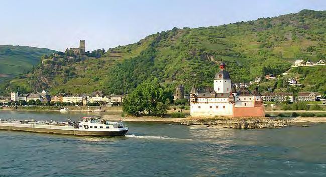 Burg Pfalzgrafenstein, auch »die Pfalz bei Kaub« genannt. (Foto: RMP)