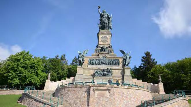 Das Niederwalddenkmal bei Rüdesheim im südlichen Tal. (Foto: Fotolia/Thomas Otto)