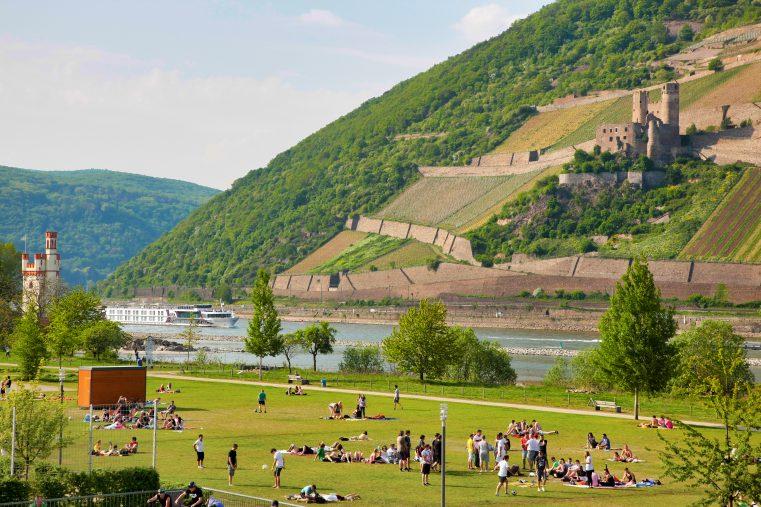 Malerisch: Burgen im Oberen Mittelrheintal. (Foto: Piel media)