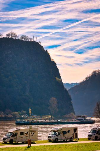 Der Loreleyfelsen ist deutschlandweit ein beliebtes Reiseziel. (Foto: Piel media)