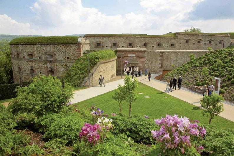 Anlage Festung Ehrenbreitstein (Foto: www.koblenz-touristik.de)