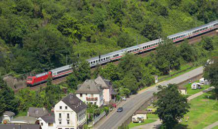 Das Rheintal ist eine zentrale Nord-Süd-Verbindung. (Foto: Piel media)