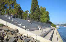 Die Rheinstufen in Koblenz wurden zur Gartenschau neu geschaffen. (Foto: RMP)