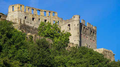 Die Burg Rheinfels bei St. Goar. (Foto: Piel media)