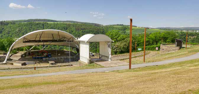 Die neu gestaltete Loreley-Freilichtbühne (2018, Foto: Piel media)