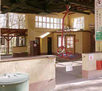 Bergstation der Sesselbahn von Assmannshausen beim Jagdschloss. (Foto: RMP)