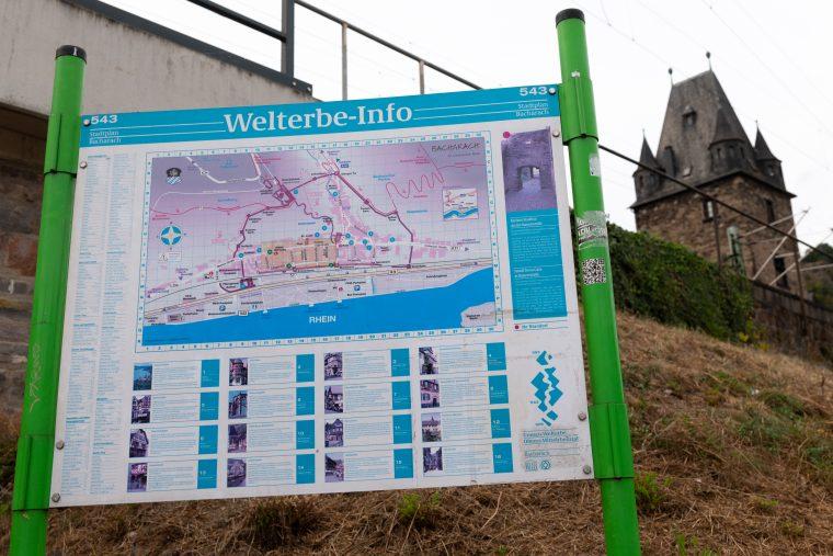 Info-Tafel Bacharach