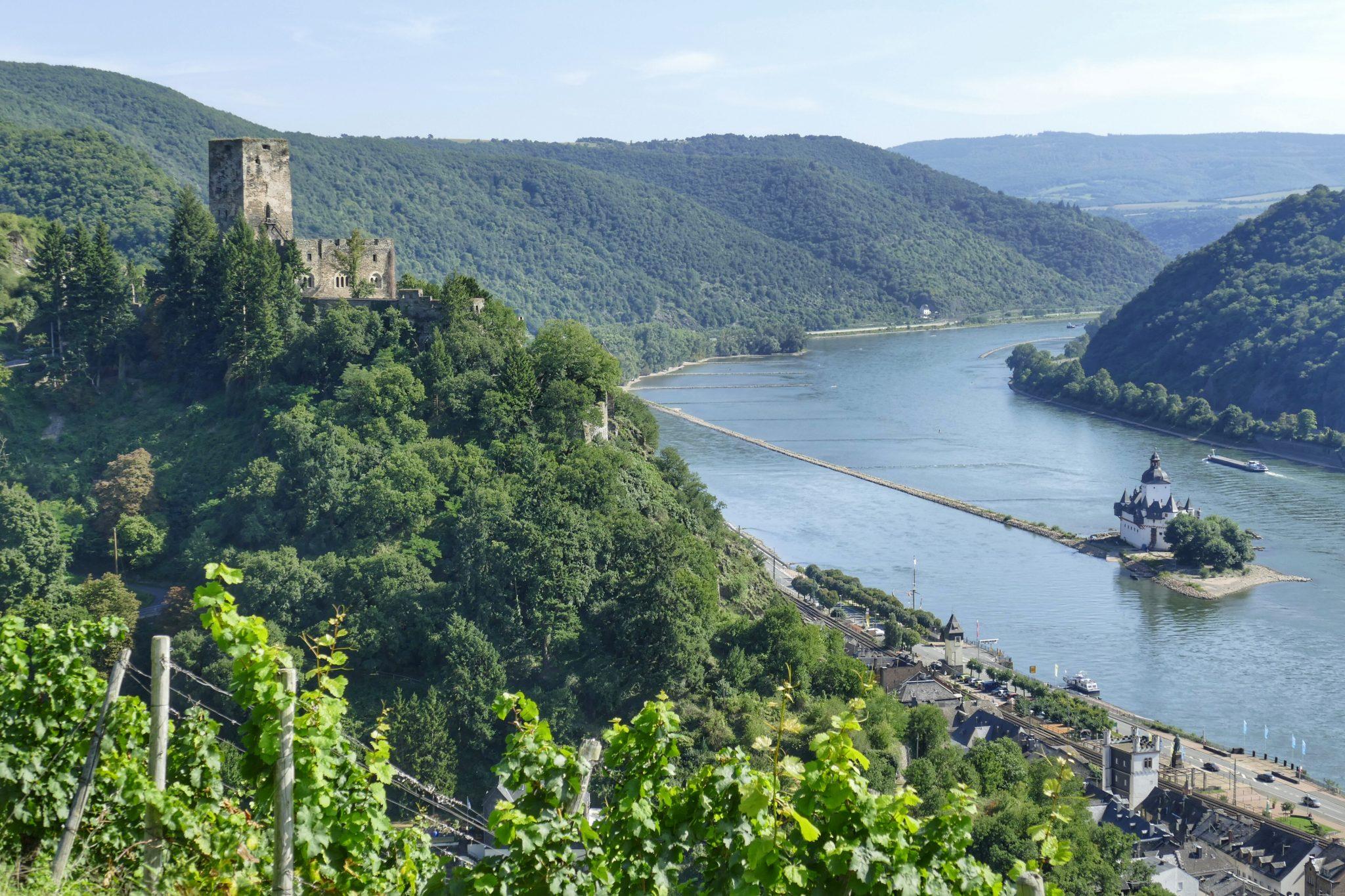 Burg Gutenfels und Burg Pfalzgrafenstein